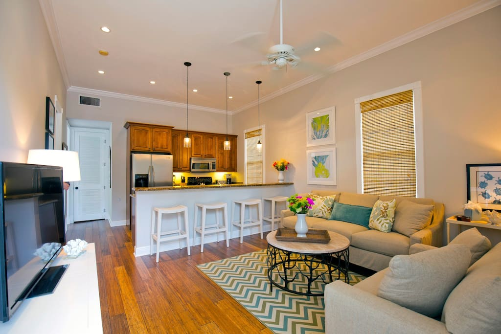 Open layout floorplan.