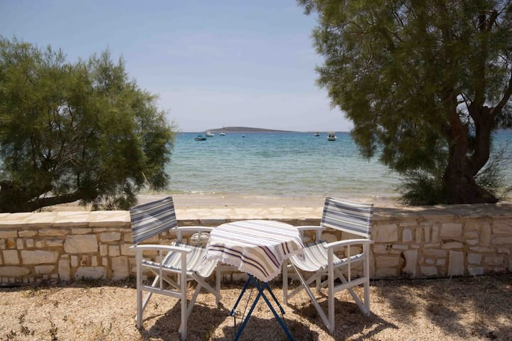 Aegean View Beach Apartment for 6 ppl - Aliki - Apartament