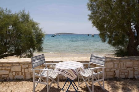 Aegean View Beach Apartment for 6 ppl - Huoneisto