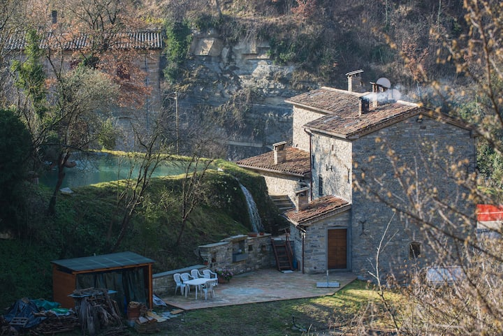 Medieval Watermill of Renzetti - CAMPO Apartment