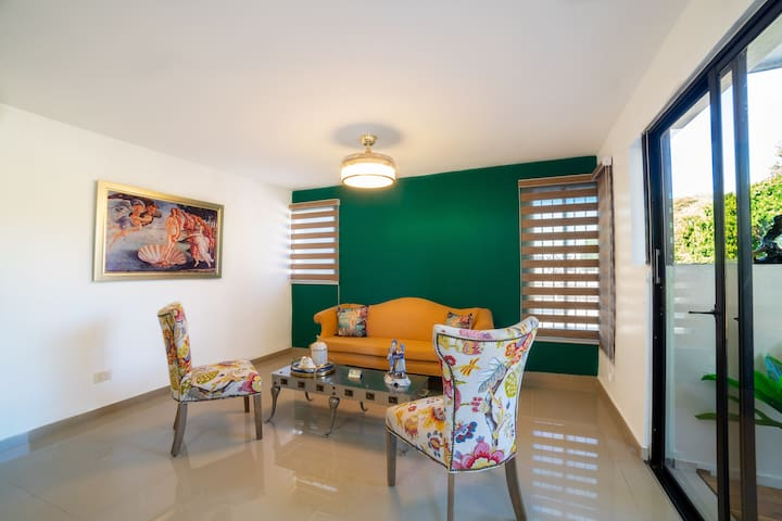 Cozy and Modern Apartment 25 min from STI Airport.