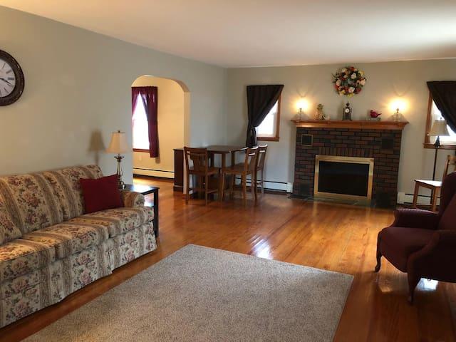 The Brodhead House in Jim Thorpe, PA