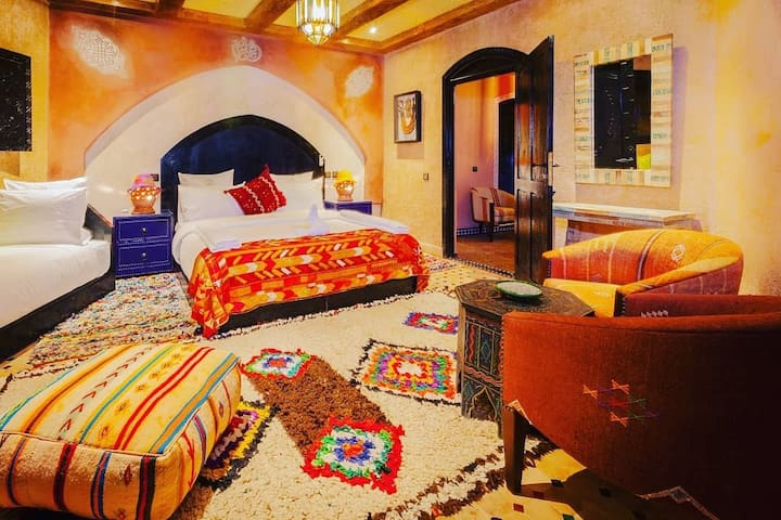 Beautiful triple room in ourika valley