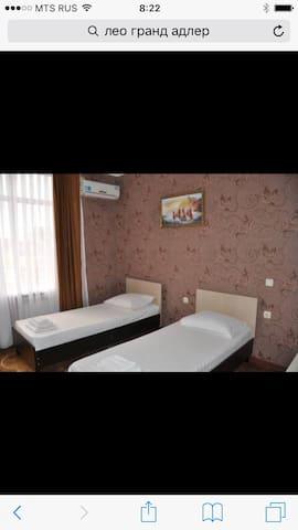 Отель Leo Grand** на берегу моря! - Sochi - Casa