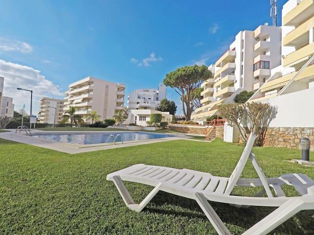 Cosy 1 bedroom in Vilamoura w/pool near beach&golf