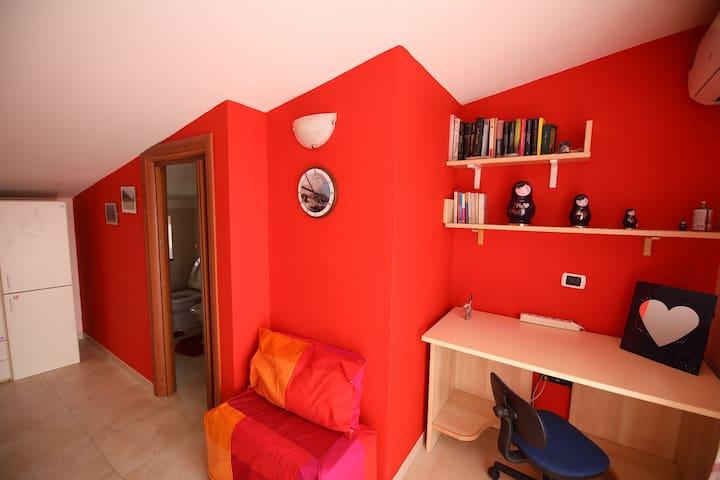 Camera secondo piano con bagno