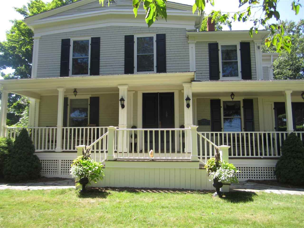 Front entrance with your private porch