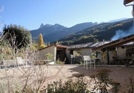 maison rénovée au pied du Vercors ( Drôme) - Romeyer