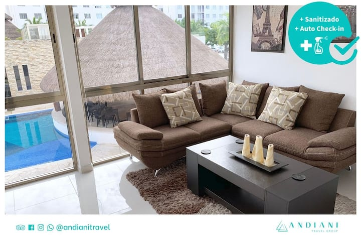 ✽ Kaan ✽ Pool view + 3 bedrooms ✽