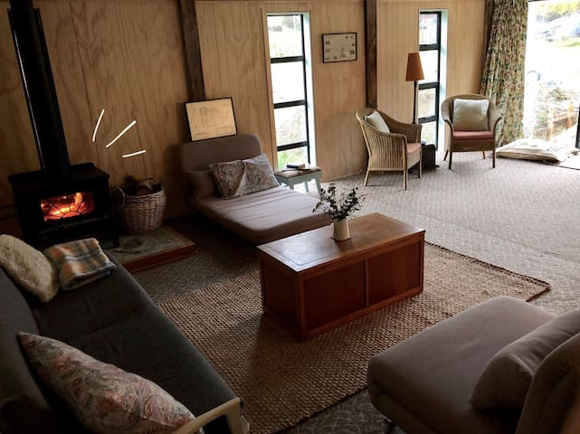 Woolshed Lodge Hot Tub option Family/Group Room