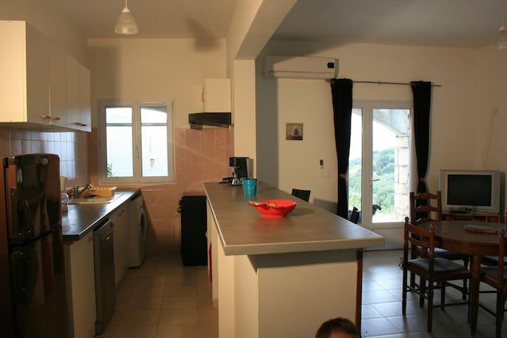 Sainte-Lucie-de-Tallano : maison de 50m2 avec vue
