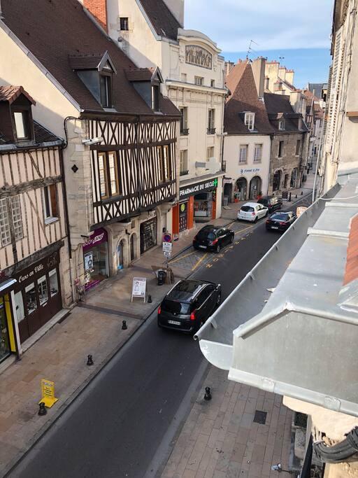 Vue rue monge