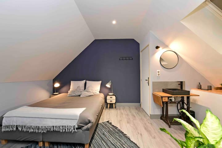 Chambre Atelier + Accès privatif salle spa
