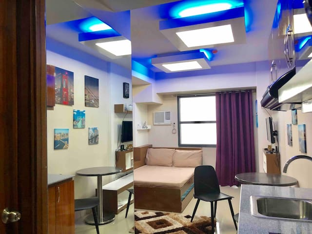 The Blue Room in Horizons 101, Central Cebu