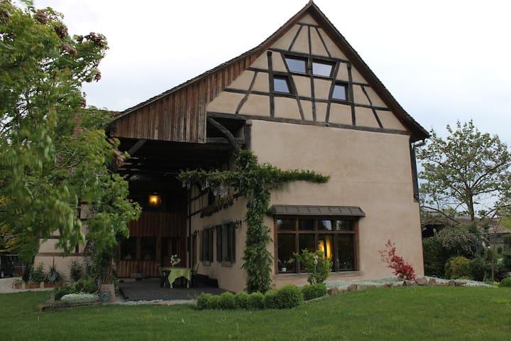Chambre de charme à la ferme - Ohnenheim - House
