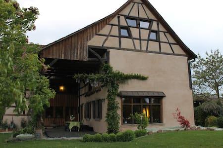 Chambre de charme à la ferme - Ohnenheim - Casa