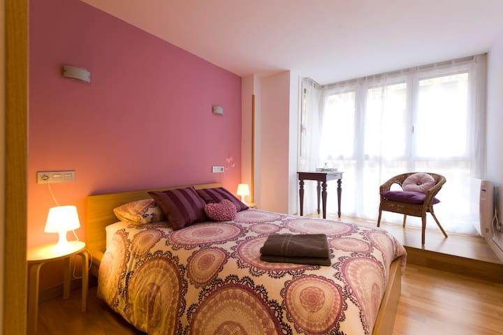 Cozy flat by the beach (free park) ESS00045 - Donostia - Appartement