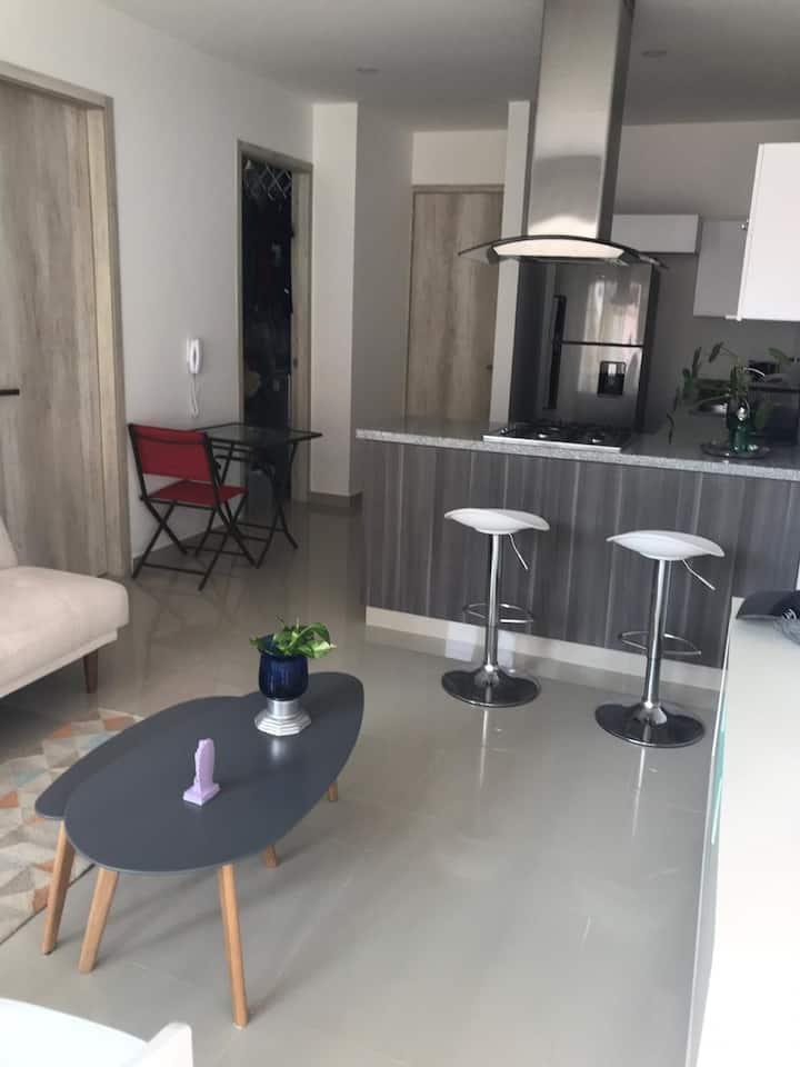 Moderno alojamiento en exclusivo sector