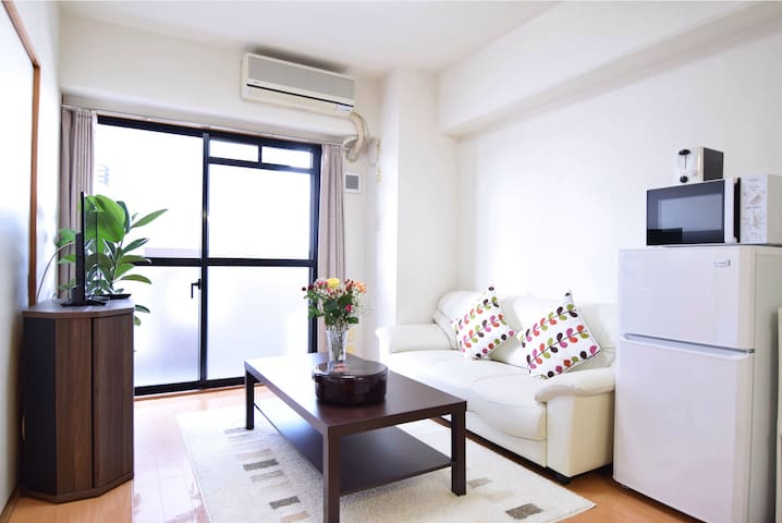 55㎡/2BDR/7people/15mins IKEBUKURO/elevator/wifi - Nerima-ku - Apartment