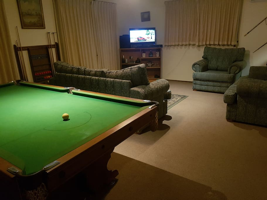 Anyone for a game of billiards?
