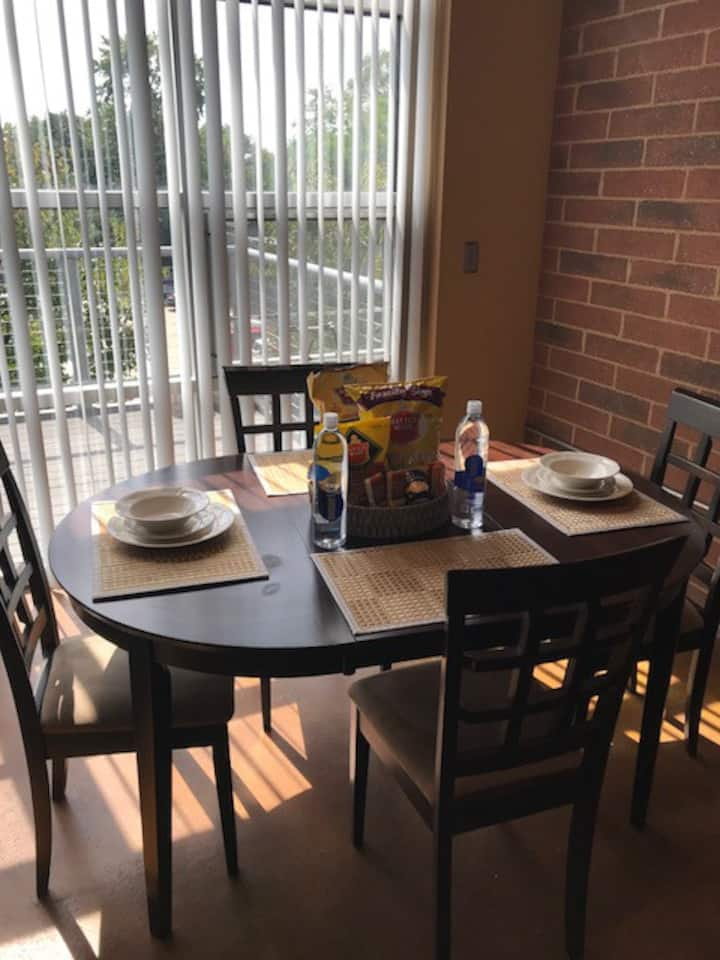 Warm and welcoming 2 bedroom apartment