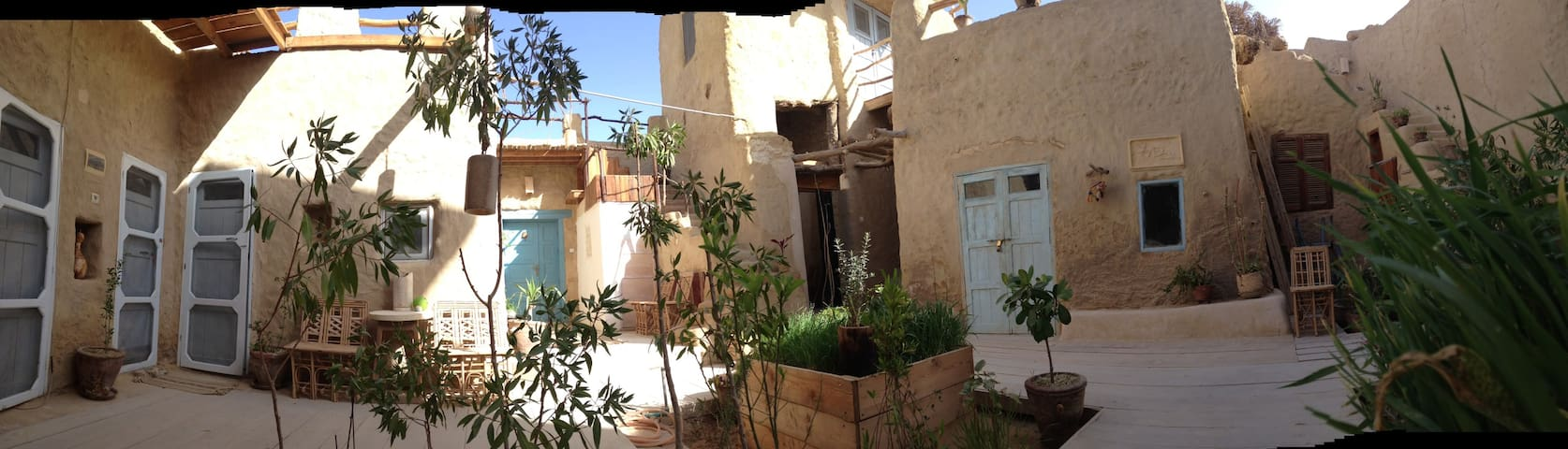Traditional Siwan Eco House in Siwa town - Siwa Oasis - Dom