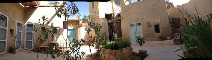 Traditional Siwan Eco House in Siwa town