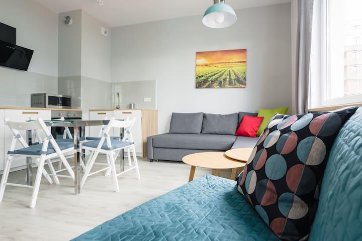 Chill Apartments Mokotow Buisness Park