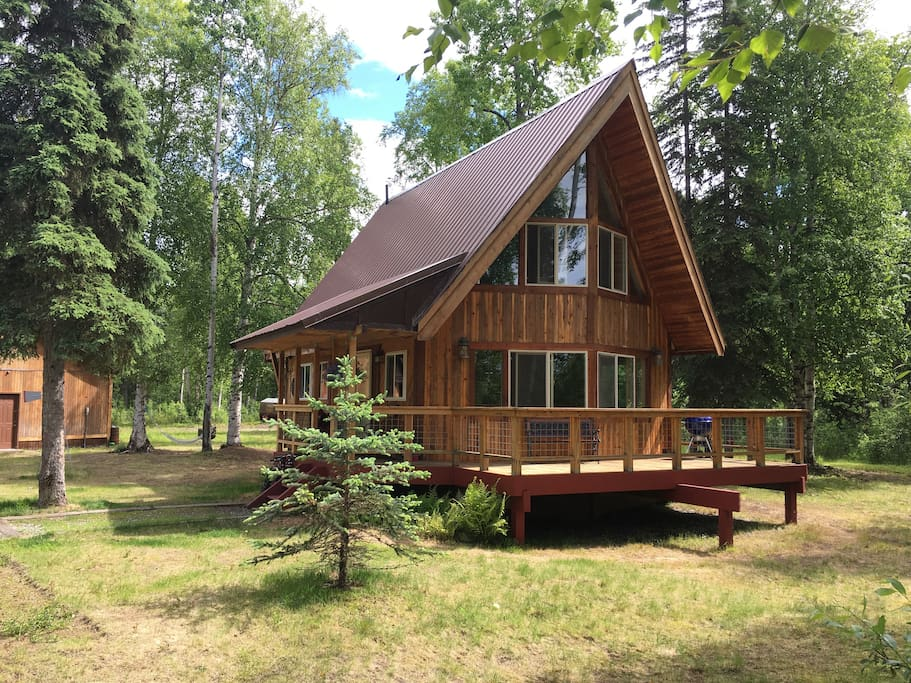 Charming Alaska A Frame Cabins For Rent In Willow Alaska United States