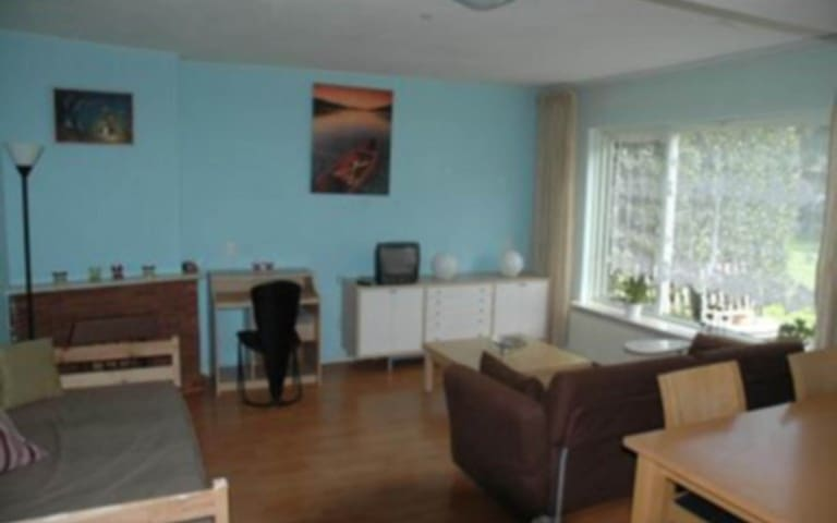 Cosy apartment near Hilversum and closeby Utrecht - Bussum - Lägenhet