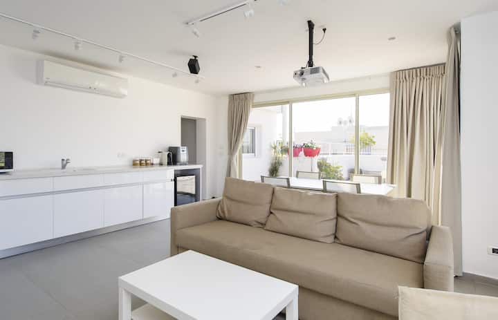 Top Duplex Near TLV&AIRPORT