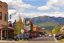 Summer Downtown Whitefish