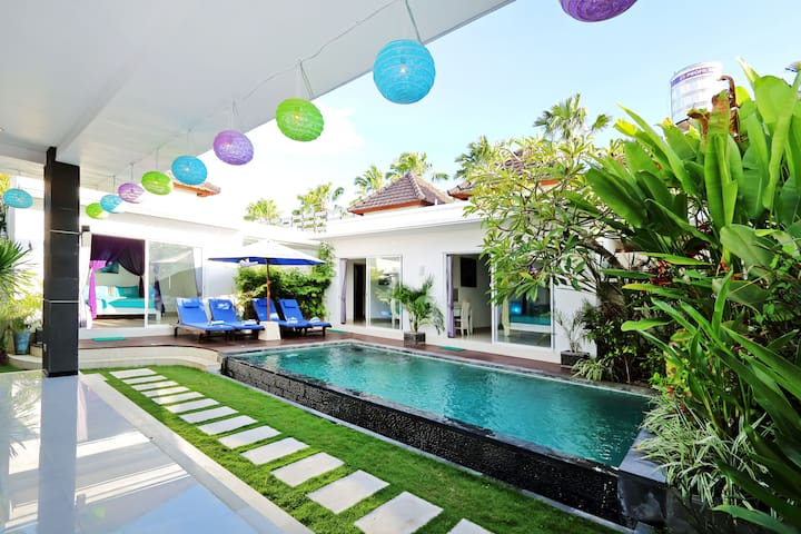Walking Distance to Beach - 3BR Private Pool Villa