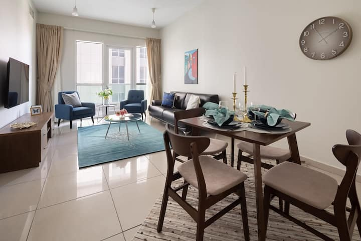 Beautiful 1BR Centrally Located in Dubai Marina
