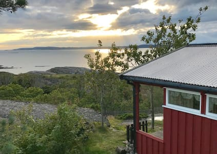 Hytte med panoramautsikt over Ytre Oslofjord