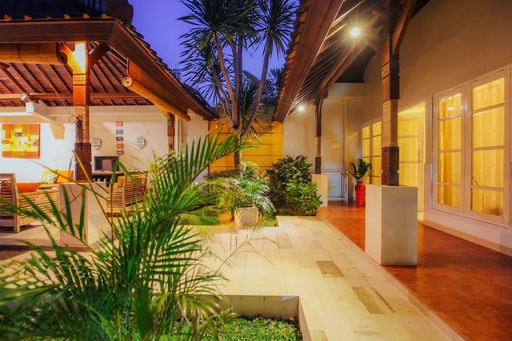 Villa Matahari in Seminyak Bali, your 3BR heaven.