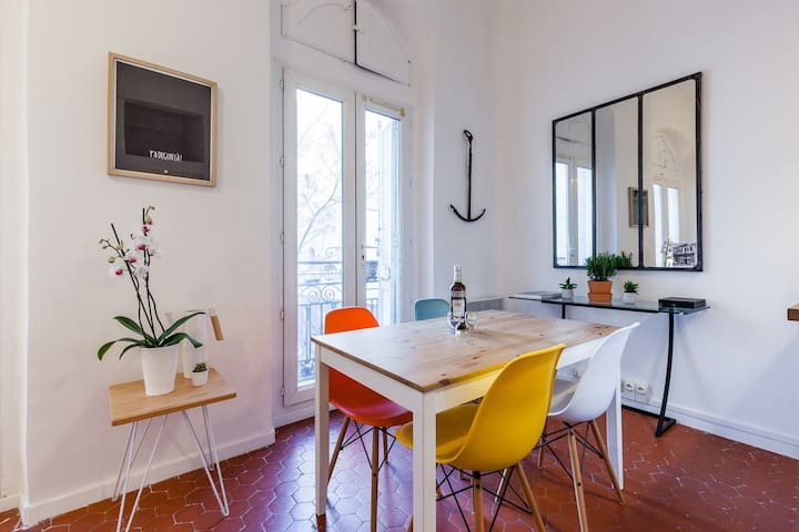 Charming apartment in the Panier