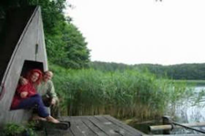 Urlaub an der Seenplatte mit Ruderboot - Alt Schwerin - Bungalow