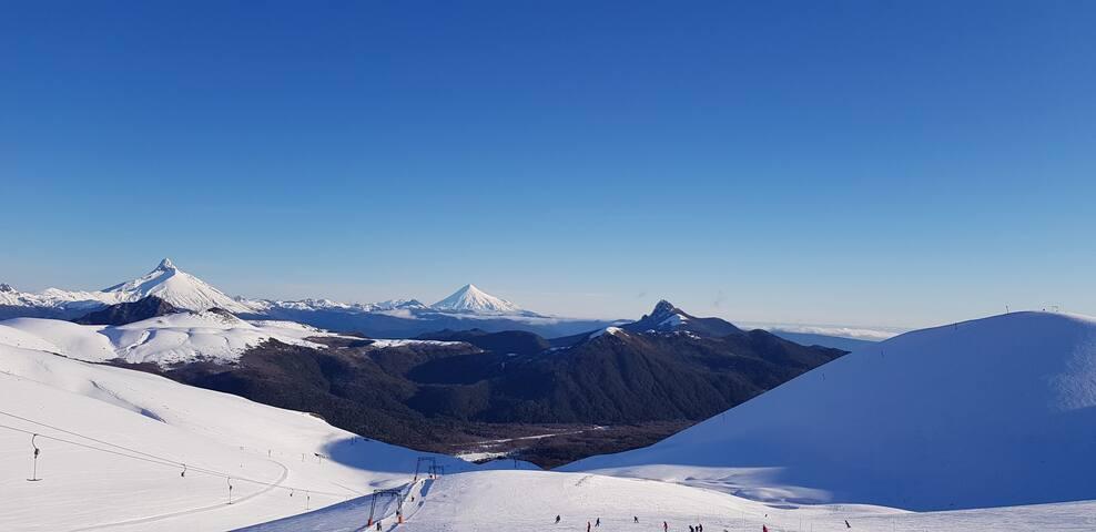 Pieza en Centro de Ski Antillanca