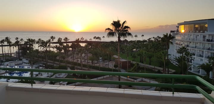 2 weeks in December with sea view, Playa el Duque