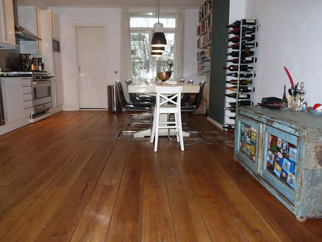 Fully equiped house, PIJP area = great - Amsterdam - Apartment