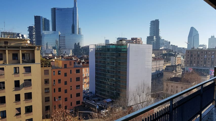 Milano view (north)