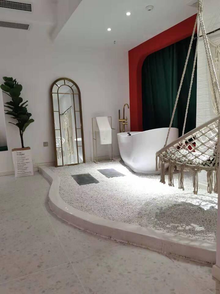 【Morocco•捕梦】全屋智能/巨幕投屏/洗烘一体洗衣机/浴缸/电动马桶
