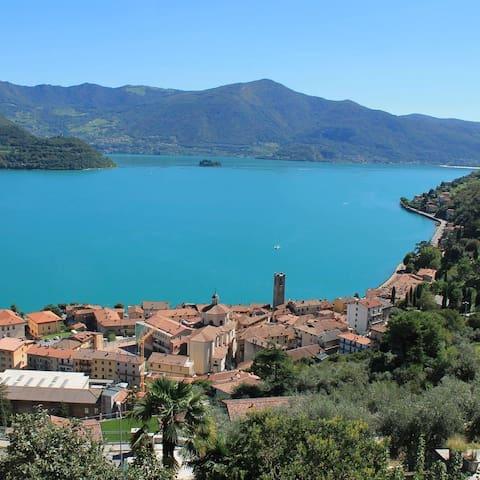 Casa Rosa - Lake View - Tavernola Bergamasca - Byt