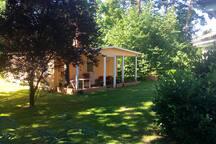 Kuscheliges Gästehaus - WLAN, 65qm, Terrasse