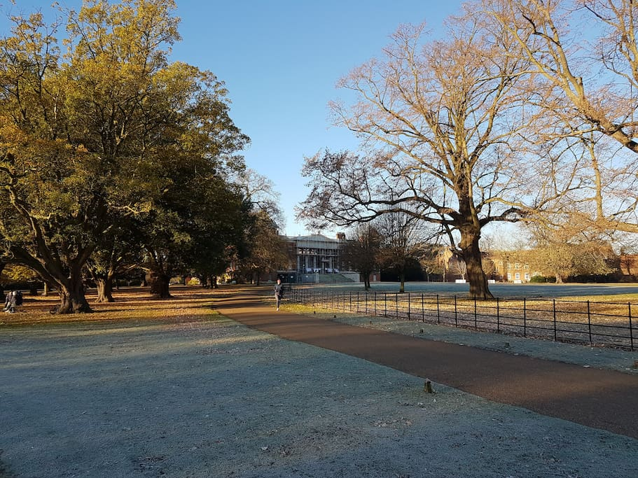 nearby Osterley park