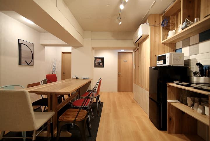 R207-1)Women Dormitory Shinjuku*WIFI free *