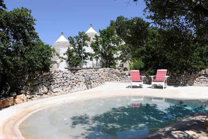 Trullo Cutetto, design trullo with pool. - Caranna