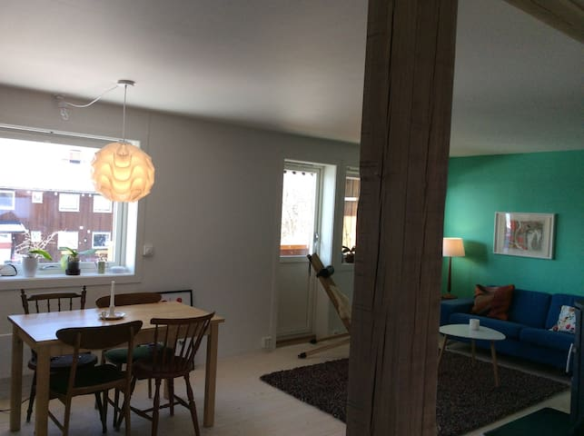 Charming 2bd with parking - Lillehammer - Apartment