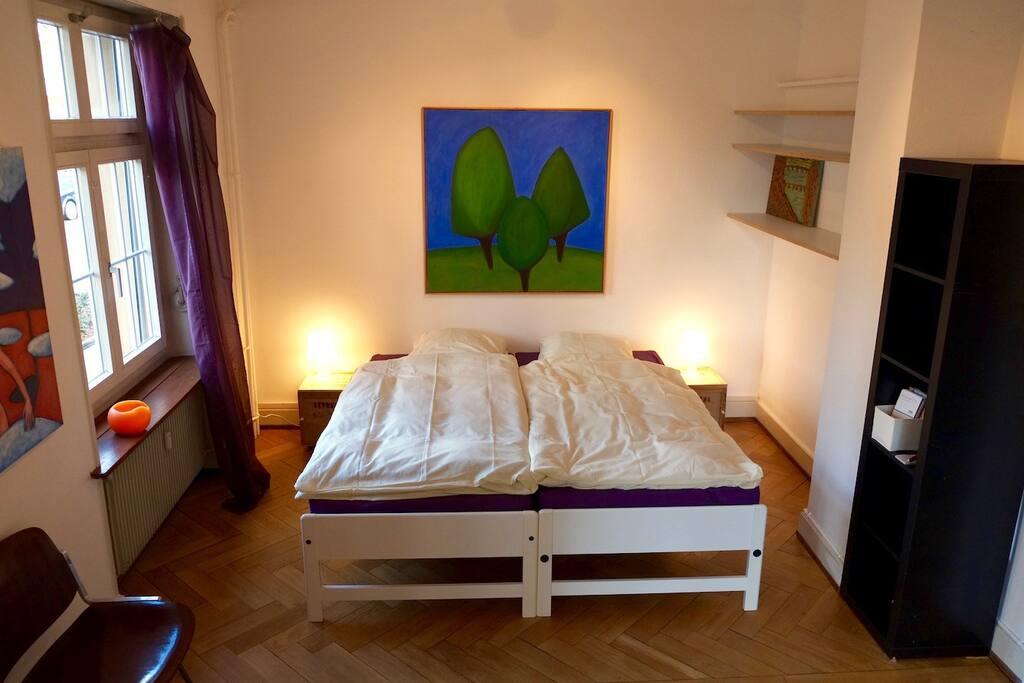 Living room/sleeping room